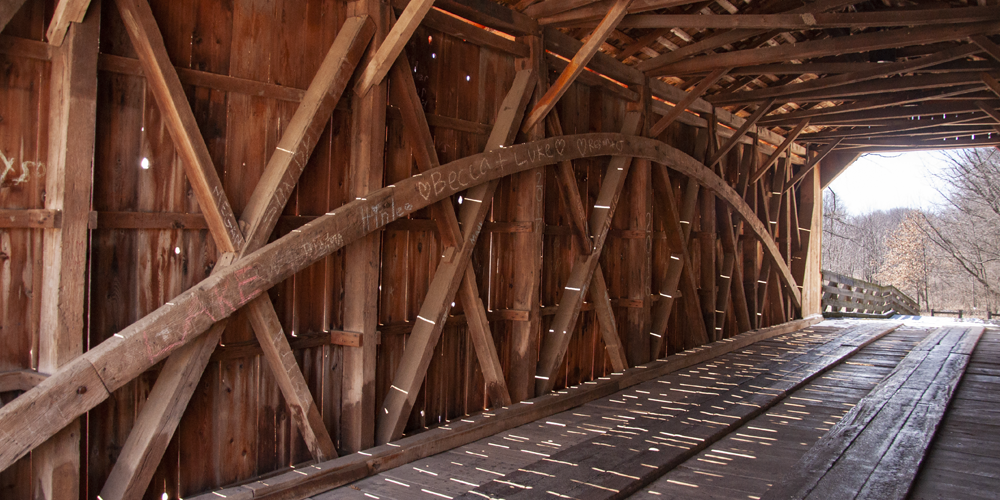 Sugar Creek Covered Bridge, Chatham/Glenarm, IL